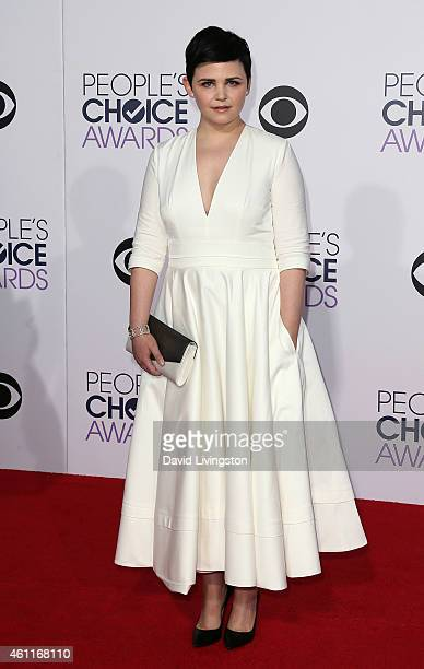 Actress Ginnifer Goodwin attends the 2015 People's Choice Awards at the Nokia Theatre LA Live on January 7 2015 in Los Angeles California