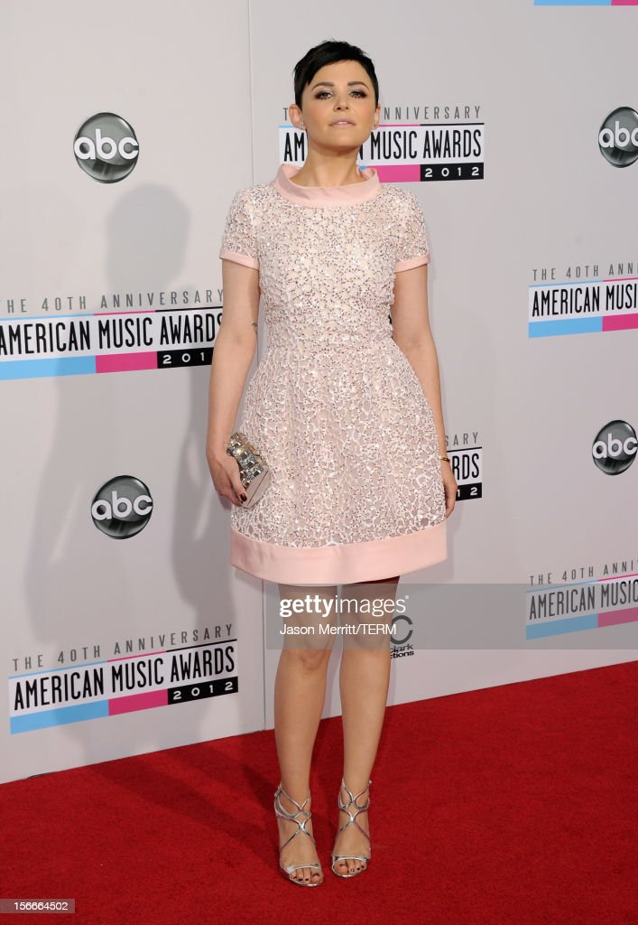Actress Ginnifer Goodwin attends the 40th American Music Awards held at Nokia Theatre LA Live on November 18 2012 in Los Angeles California