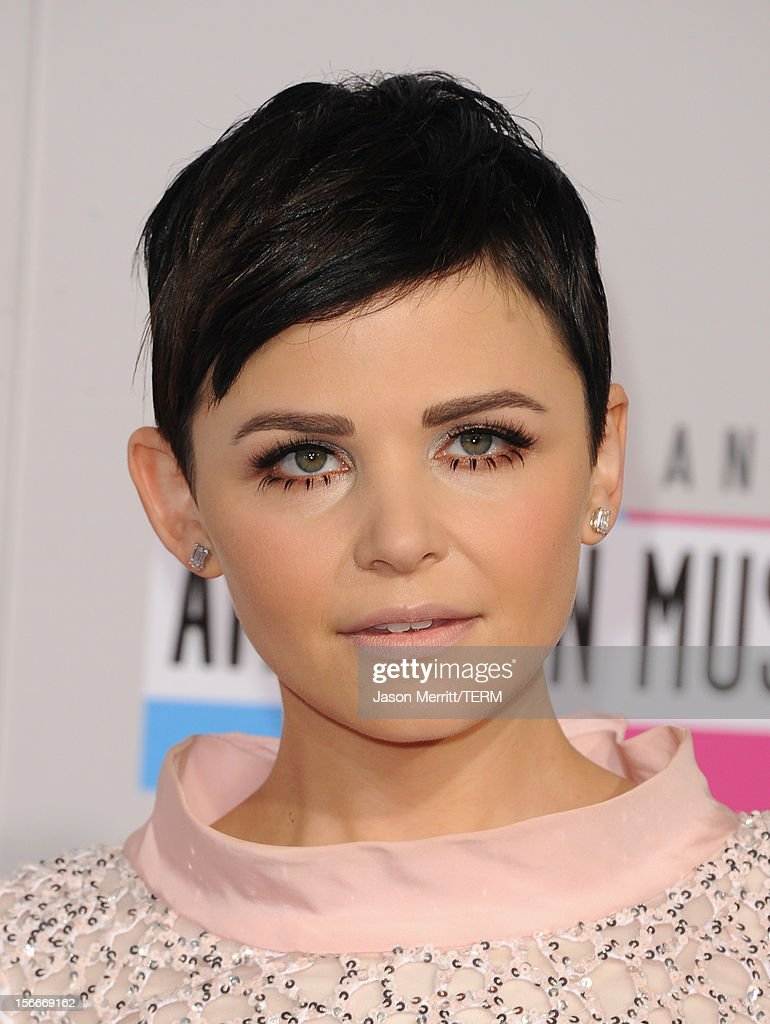 Actress Ginnifer Goodwin attends the 40th American Music Awards held at Nokia Theatre L.A. Live on November 18, 2012 in Los Angeles, California.