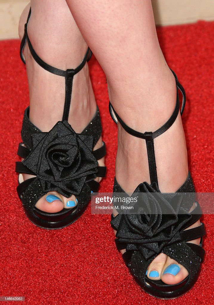 Actress Ginnifer Goodwin (shoe detail) attends the Broadcast Television Journalists Association Second Annual Critics' Choice Awards at The Beverly Hilton Hotel on June 18, 2012 in Beverly Hills, California.
