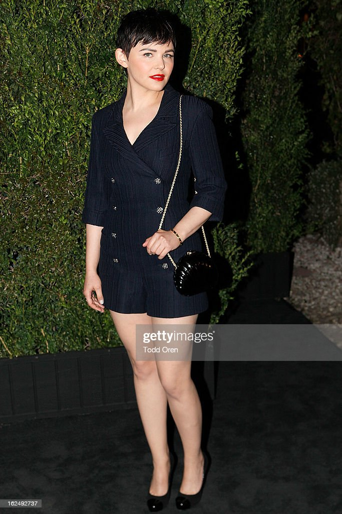 Actress Ginnifer Goodwin attends the CHANEL Pre-Oscar Dinner at Madeo Restaurant on February 23, 2013 in Los Angeles, California.