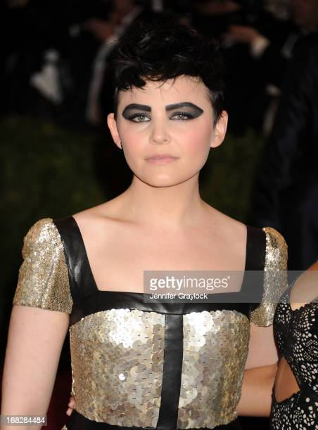 Actress Ginnifer Goodwin attends the Costume Institute Gala for the 'PUNK Chaos to Couture' exhibition at the Metropolitan Museum of Art on May 6...