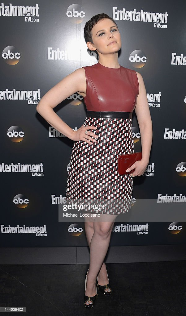 Actress Ginnifer Goodwin attends the Entertainment Weekly & ABC-TV Up Front VIP Party at Dream Downtown on May 15, 2012 in New York City.