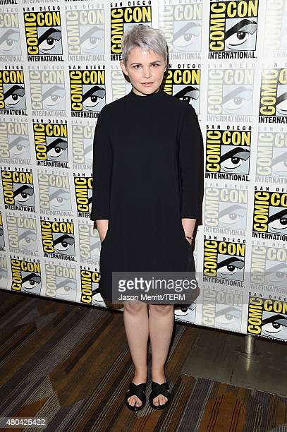 Actress Ginnifer Goodwin attends the 'Once Upon A Time' press room during ComicCon International 2015 at the Hilton Bayfront on July 11 2015 in San...