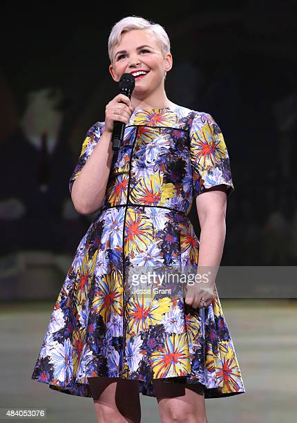 Actress Ginnifer Goodwin of ZOOTOPIA took part today in 'Pixar and Walt Disney Animation Studios The Upcoming Films' presentation at Disney's D23...