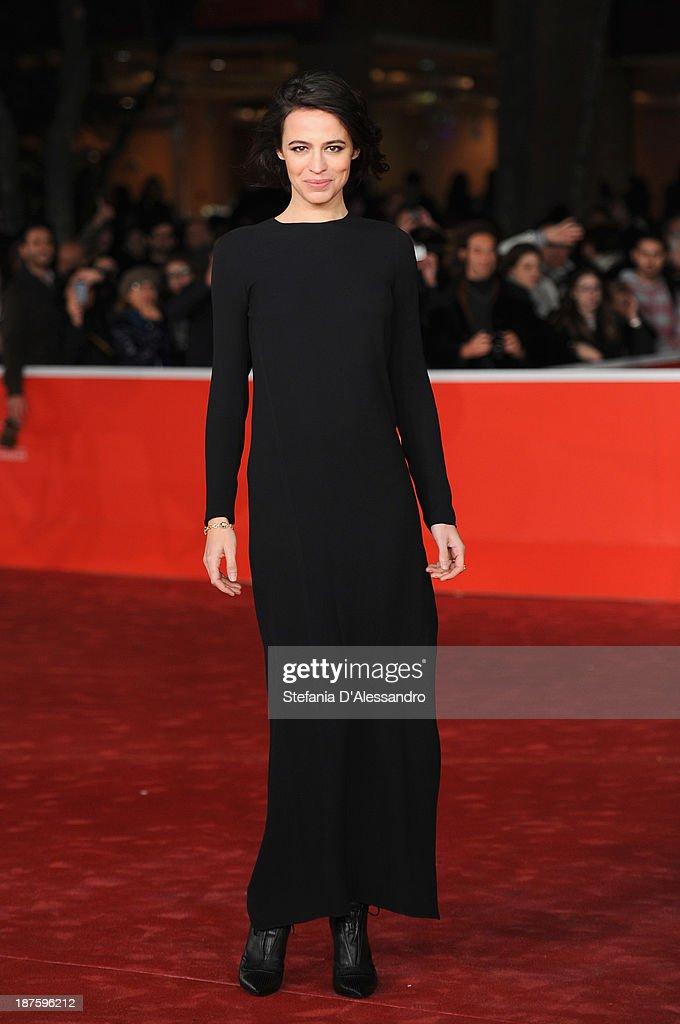 Actress Giorgia Sinicorni attends 'Come Il Vento' Premiere during The 8th Rome Film Festival on November 10, 2013 in Rome, Italy.