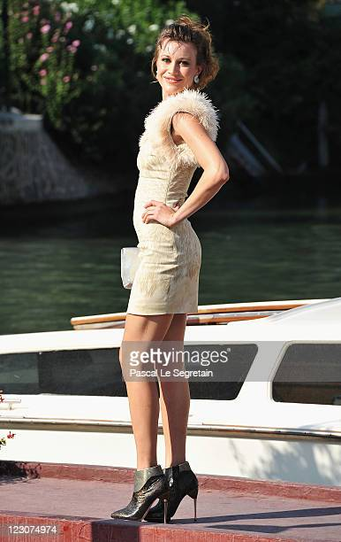 Actress Giorgia Wurth attends the 68th Venice Film Festival on August 30 2011 in Venice Italy