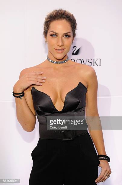 Actress Giovanna Ewbank attends Swarovski #bebrilliant at The Weather Room at the Top of the Rock on May 24 2016 in New York City