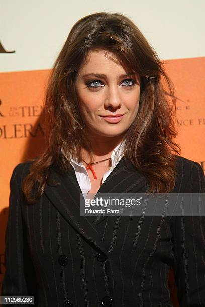 Actress Giovanna Mezzogiorno at the premiere of 'Love in the Time of Cholera' on January 9 2008 in Madrid Spain