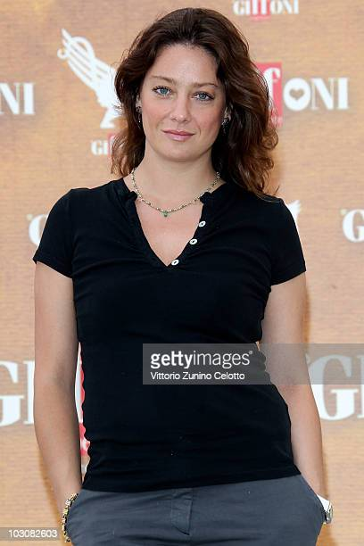 Actress Giovanna Mezzogiorno attends a photocall during Giffoni Experience 2010 on July 25 2010 in Giffoni Valle Piana Italy