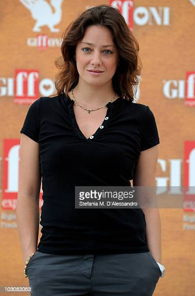 Actress Giovanna Mezzogiorno attends a photocall during the Giffoni Experience on July 25 2010 in Giffoni Valle Piana Italy