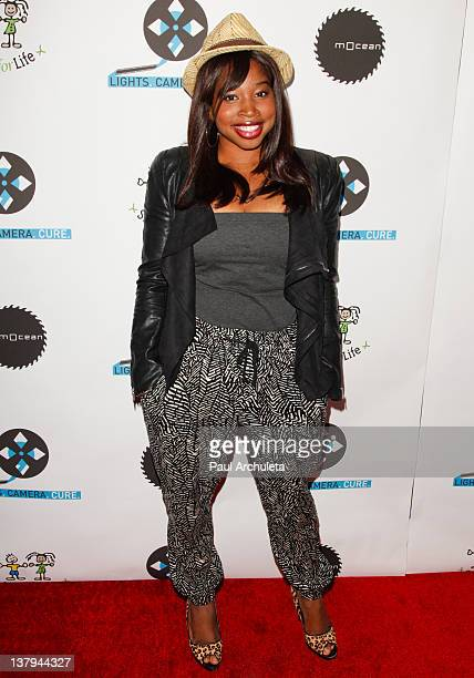 Actress Giovonnie Samuels attends the 'Lights Camera Cure 2012 Hollywood DanceAThon' at Avalon on January 29 2012 in Hollywood California
