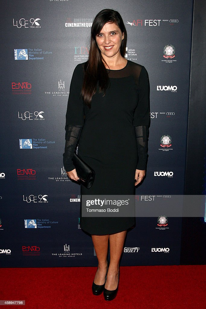 Actress Gisella Marengo attends the American Cinematheque Film Series Cinema Italian Style opening night gala held at the Egyptian Theatre on...