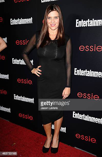 Actress Gisella Marengo attends the Entertainment Weekly SAG Awards preparty at Chateau Marmont on January 17 2014 in Los Angeles California
