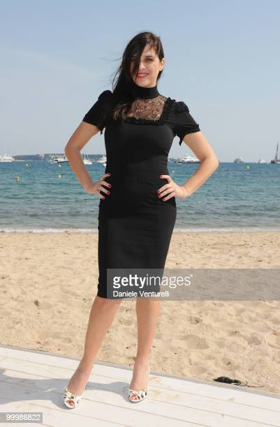 Actress Gisella Marengo attends the Ischia Global Film Festival Party hosted by Paul Haggis held at the Pavillion Italia during the 63rd Annual...