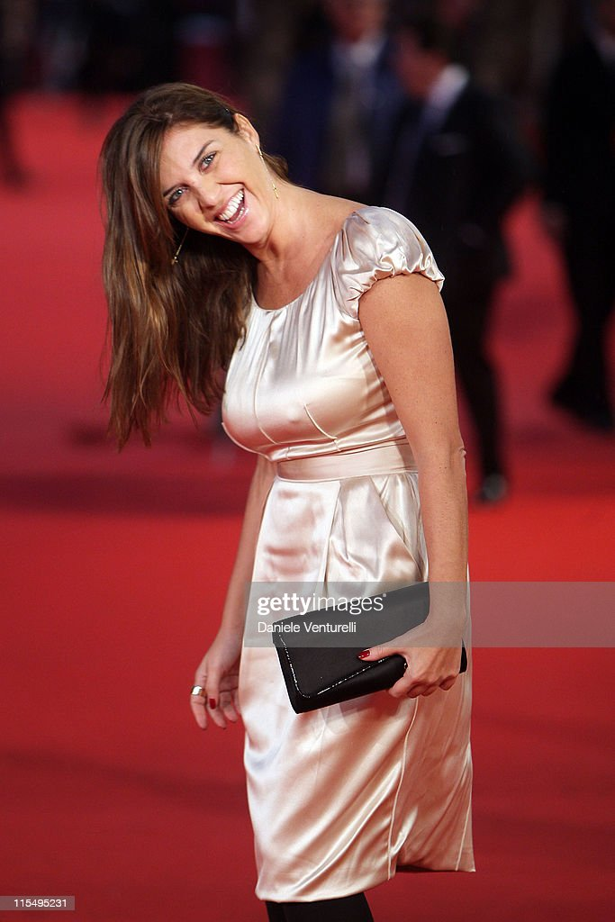 Actress Gisella Marengo attends the Official Awards Ceremony during Day 9 of the 4th International Rome Film Festival held at the Auditorium Parco...