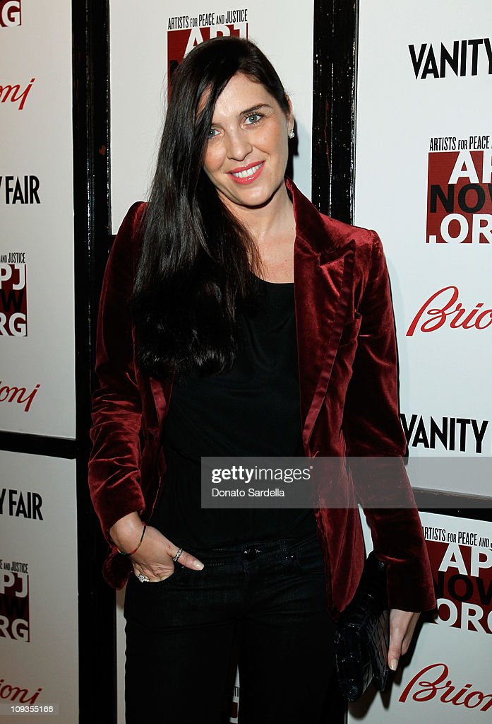 Actress Gisella Marengo attends Vanity Fair Campaign Hollywood 2011 celebrating Artists for Peace and Justice presented by Brioni held at Eveleigh on...