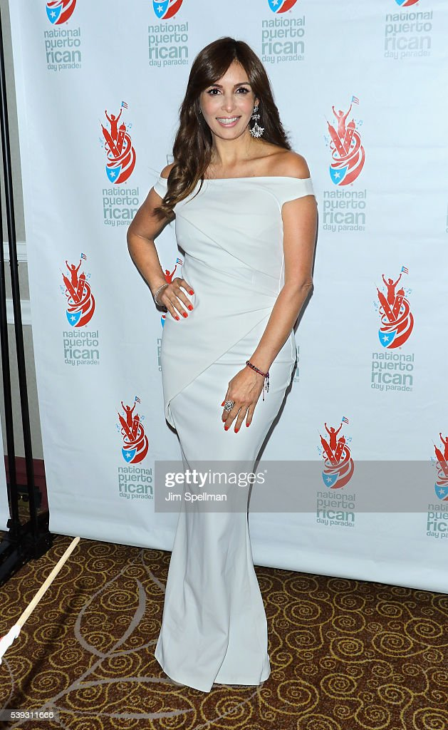 Actress Giselle Blondet attends the 2016 NPRDP Scholarship Fundraiser Gala at New York Hilton Midtown on June 10, 2016 in New York City.