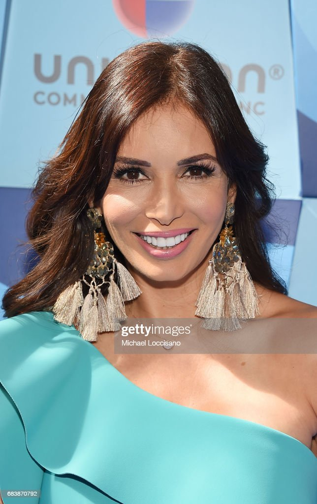 Actress Giselle Blondet attends the 2017 Univision Upfront at the Lyric Theatre on May 16, 2017 in New York City.