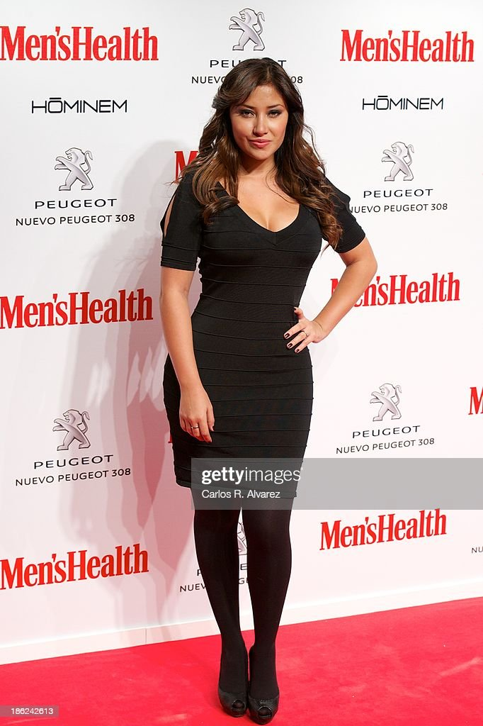 Actress Giselle Calderon attends Men's Health Awards 2013 at the Canal Theater on October 29, 2013 in Madrid, Spain.