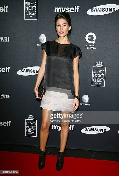 Actress Giulia Bevilacqua attends Myself magazine party at Limelight on November 20 2013 in Milan Italy