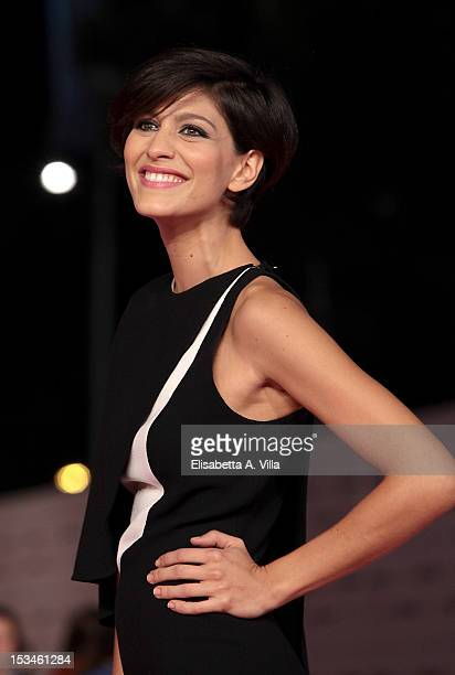 Actress Giulia Bevilacqua attends the 2012 RomaFictionFest Closing Cerimony at Auditorium Parco della Musica on October 5 2012 in Rome Italy