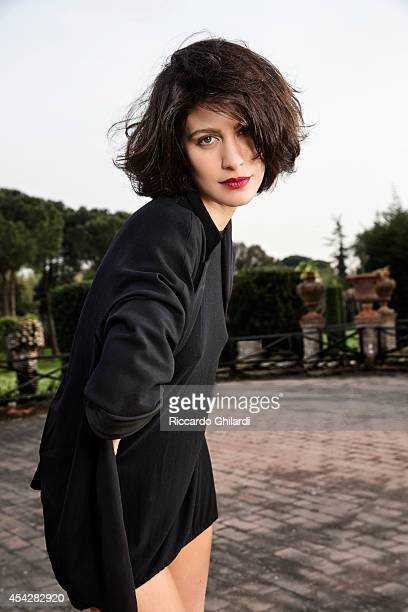 Actress Giulia Bevilacqua is photographed for Self Assignment on August 25 2014 in Rome Italy