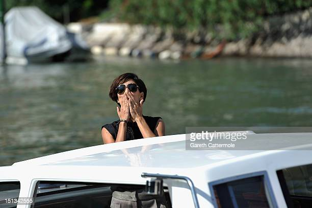 Actress Giulia Bevilacqua is seen at the 69th Venice Film Festival on September 6 2012 in Venice Italy