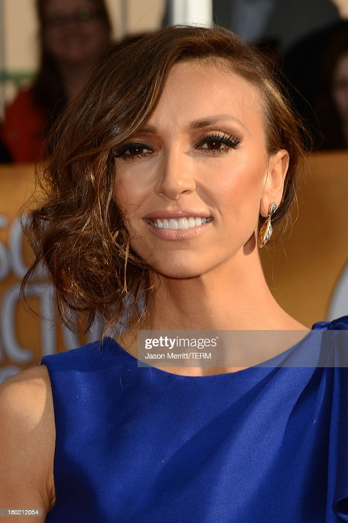 Actress Giuliana Rancic attends the 19th Annual Screen Actors Guild Awards at The Shrine Auditorium on January 27, 2013 in Los Angeles, California. (Photo by Jason Merritt/WireImage) 23116_014_0113.JPG