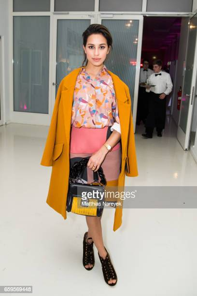 Actress Gizem Emre attends the BIDI DABU by Kilian Kerner presentation at Ellington Hotel on March 28 2017 in Berlin Germany