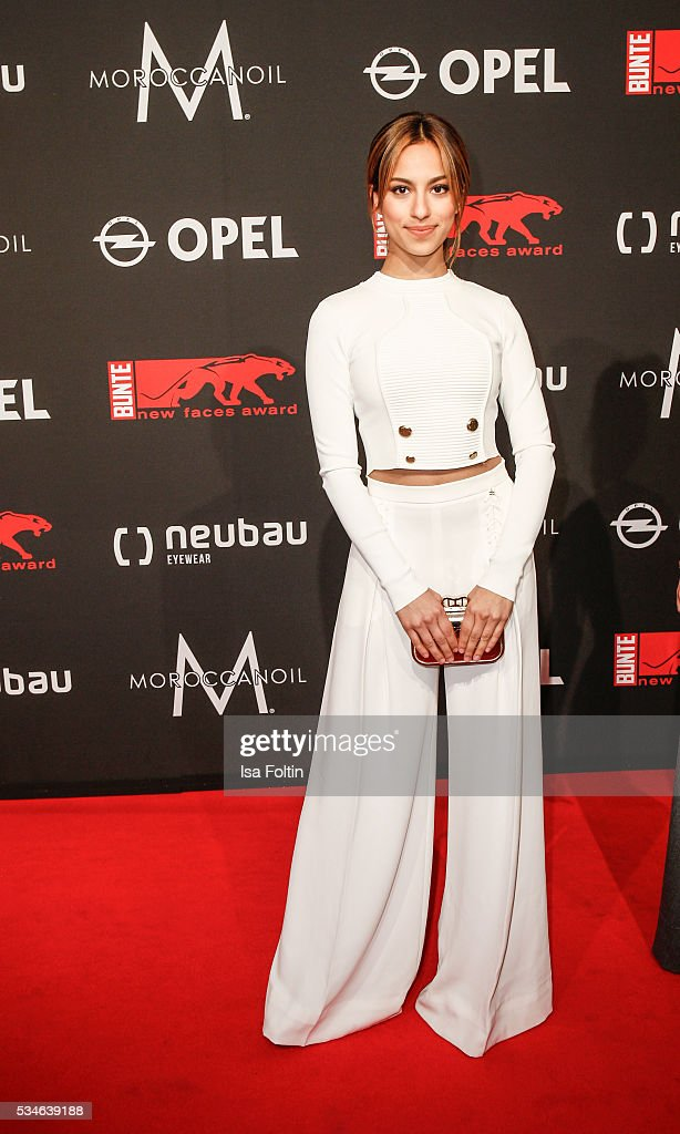 Actress Gizem Emre attends the New Faces Award Film 2016 at ewerk on May 26, 2016 in Berlin, Germany.