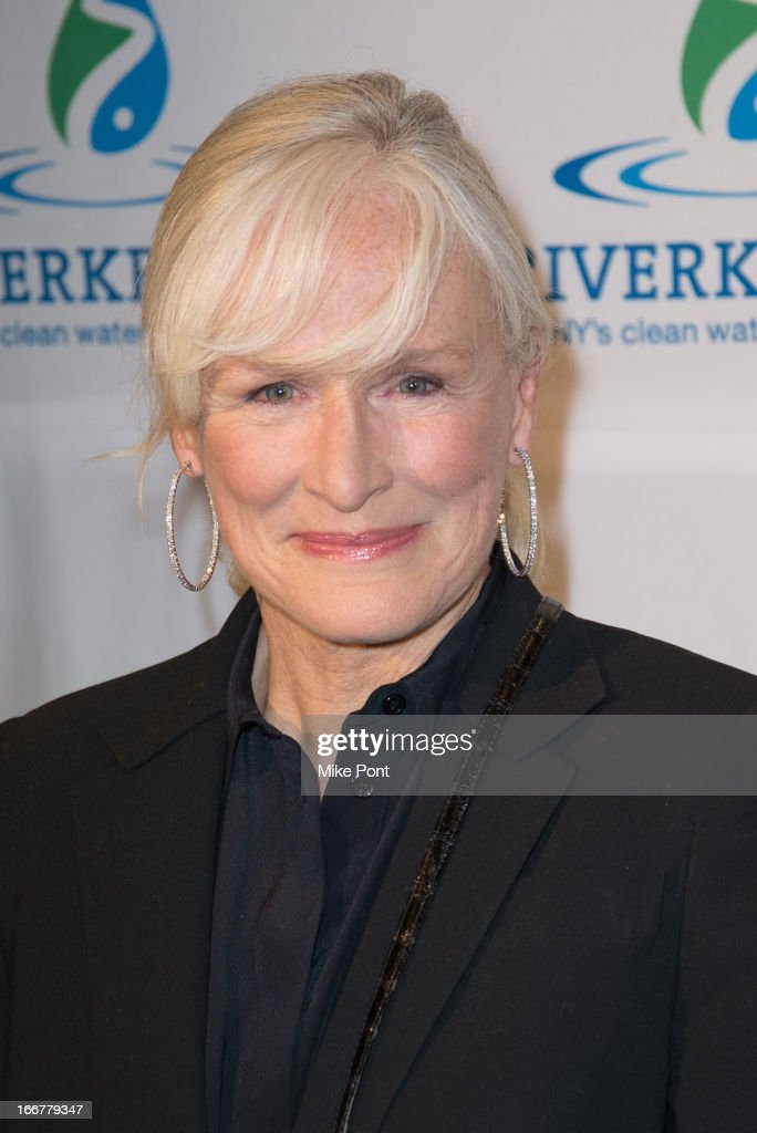 Actress Glen Close attends the 2013 Riverkeeper's Fishermen's Ball at Pier 60 on April 16, 2013 in New York City.