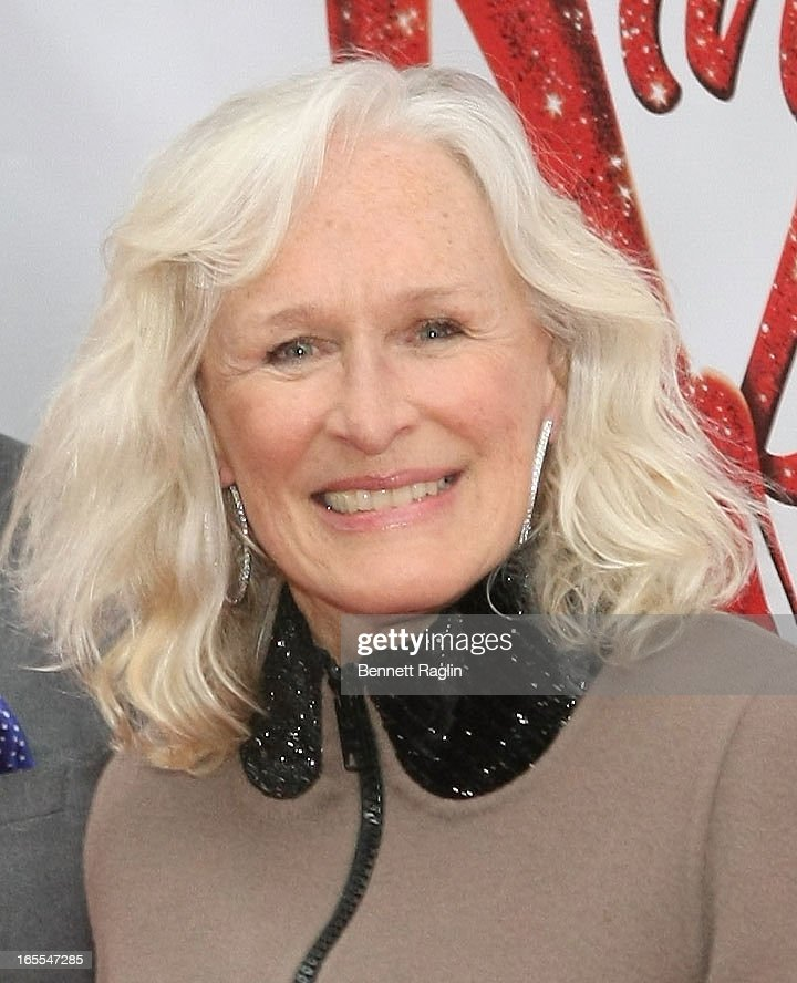 Actress Glen Close attends the Media Opening for Kinky Boots on Broadway, 'KinkyBway', at the Al Hirschfeld Theatre on April 4, 2013 in New York City.