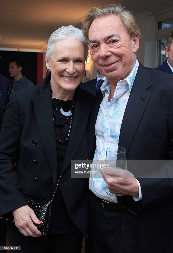 Actress Glenn Close and Composer Andrew Lloyd Webber attend The British Consulate Honors Legendary Composer Andrew Lloyd Webber at British Consulate-General on May 18, 2016 in New York City.
