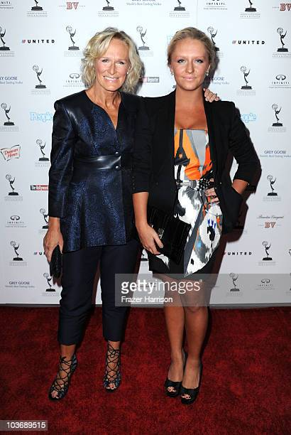 Actress Glenn Close and daughter Annie Stark arrives at the Academy Of Television Arts Sciences' Performers Nominee Reception at the Pacific Design...