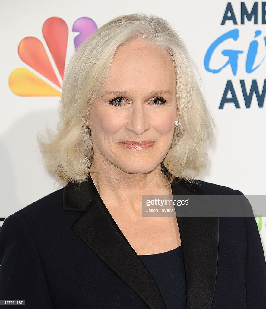 Actress Glenn Close attends 2012 American Giving Awards at Pasadena Civic Auditorium on December 7, 2012 in Pasadena, California.