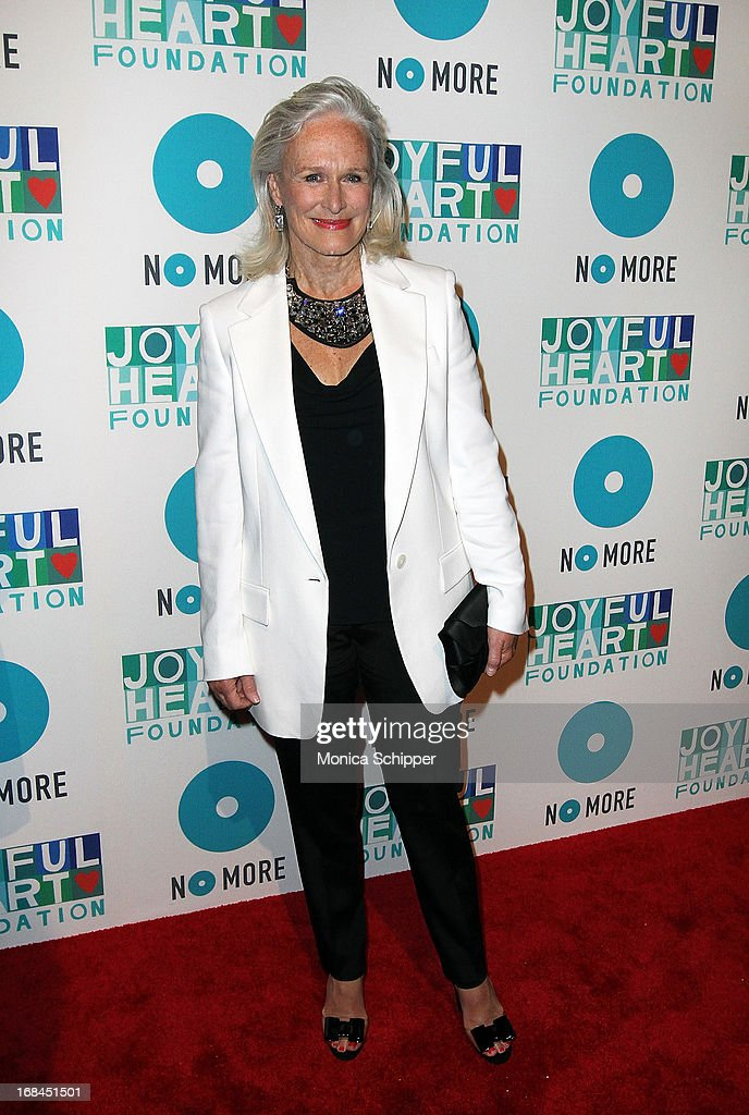 Actress Glenn Close attends the 2013 Joyful Heart Foundation gala at Cipriani 42nd Street on May 9, 2013 in New York City.