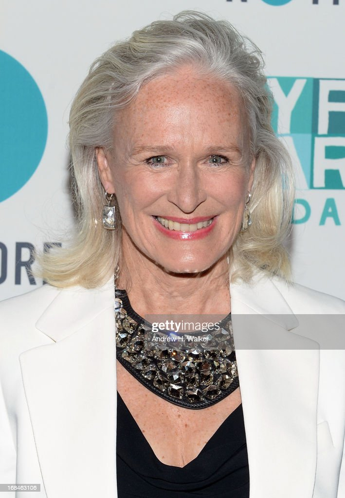 Actress <a gi-track='captionPersonalityLinkClicked' href=/galleries/search?phrase=Glenn+Close&family=editorial&specificpeople=201870 ng-click='$event.stopPropagation()'>Glenn Close</a> attends the 2013 Joyful Heart Foundation Gala at Cipriani 42nd Street on May 9, 2013 in New York City.