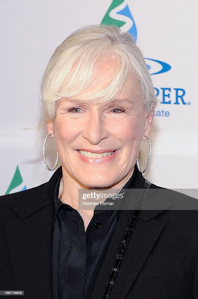Actress <a gi-track='captionPersonalityLinkClicked' href=/galleries/search?phrase=Glenn+Close&family=editorial&specificpeople=201870 ng-click='$event.stopPropagation()'>Glenn Close</a> attends the 2013 Riverkeeper's Fishermen's Ball at Pier 60 on April 16, 2013 in New York City.