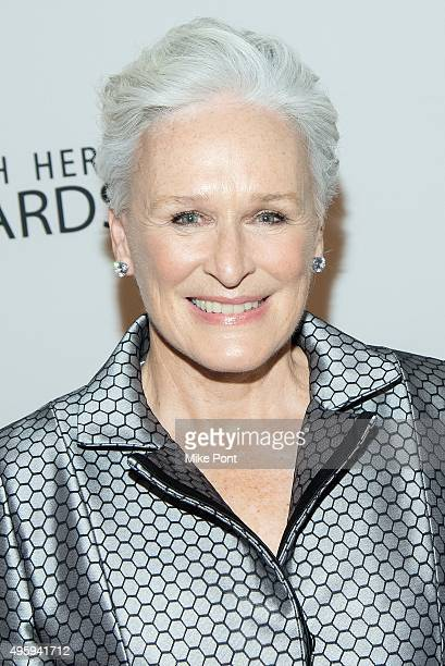 Actress Glenn Close attends the 2015 Health Hero Awards at The Times Center on November 5 2015 in New York City