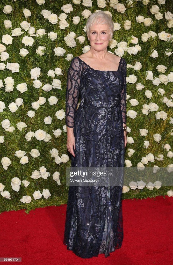 actress-glenn-close-attends-the-2017-tony-awards-at-radio-city-music-picture-id694974704