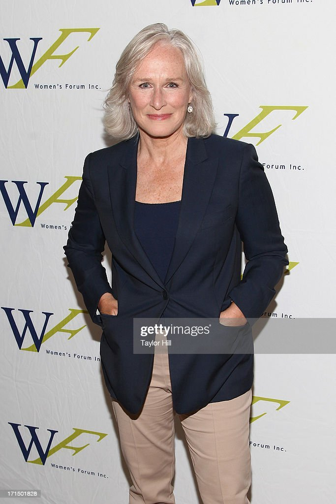 Actress Glenn Close attends the 3rd annual Elly Awards luncheon at The Plaza Hotel on June 25, 2013 in New York City.
