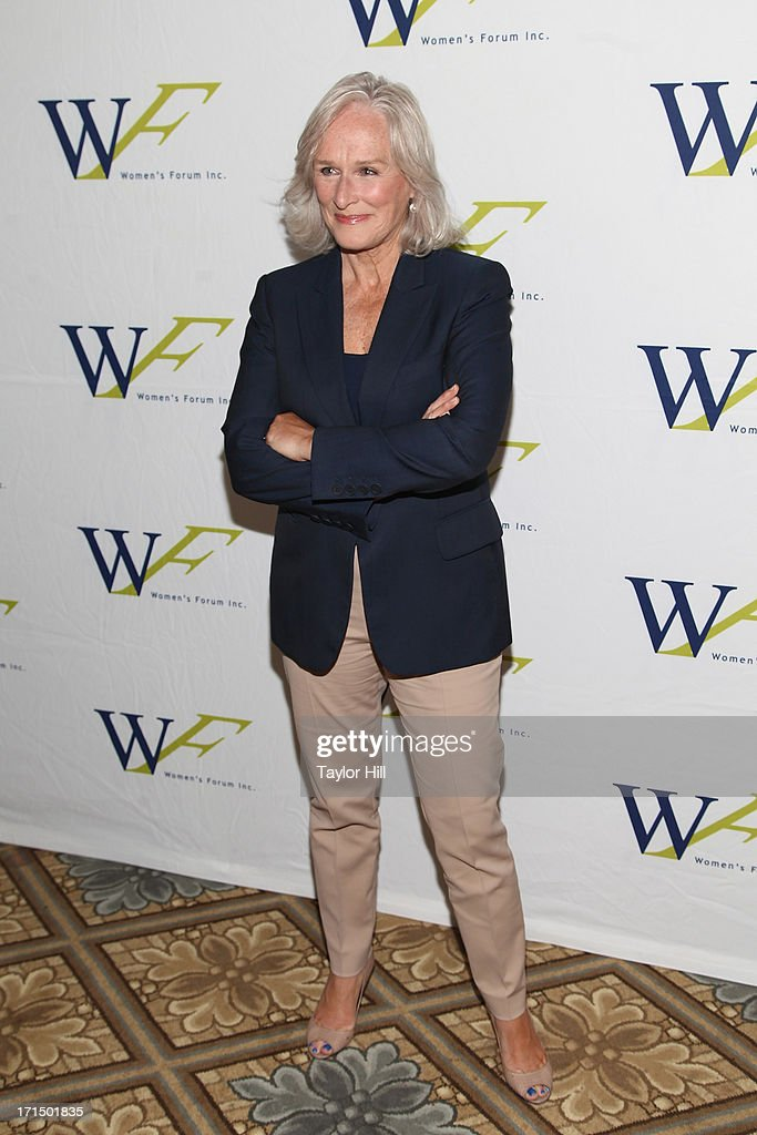 Actress <a gi-track='captionPersonalityLinkClicked' href=/galleries/search?phrase=Glenn+Close&family=editorial&specificpeople=201870 ng-click='$event.stopPropagation()'>Glenn Close</a> attends the 3rd annual Elly Awards luncheon at The Plaza Hotel on June 25, 2013 in New York City.