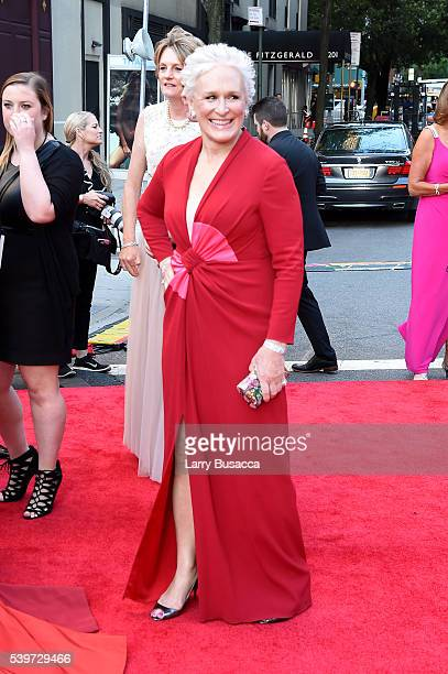 Actress Glenn Close attends the 70th Annual Tony Awards at The Beacon Theatre on June 12 2016 in New York City