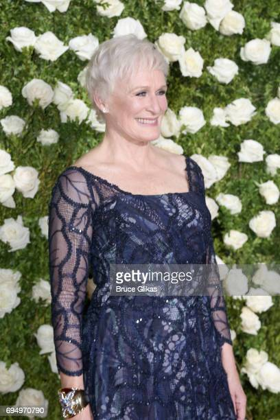 Actress Glenn Close attends the 71st Annual Tony Awards at Radio City Music Hall on June 11 2017 in New York City