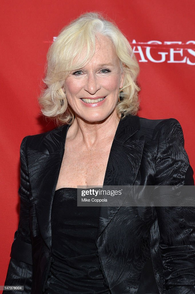 Actress <a gi-track='captionPersonalityLinkClicked' href=/galleries/search?phrase=Glenn+Close&family=editorial&specificpeople=201870 ng-click='$event.stopPropagation()'>Glenn Close</a> attends The DIRECTV Premiere event for the fifth and Final Season of 'Damages' at The Oak Room on June 28, 2012 in New York City.