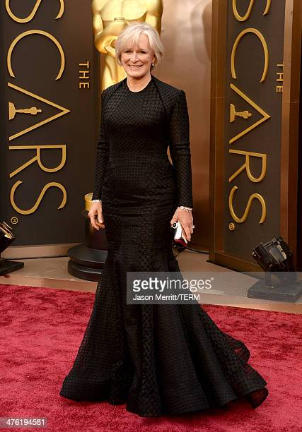 Actress Glenn Close attends the Oscars held at Hollywood Highland Center on March 2 2014 in Hollywood California