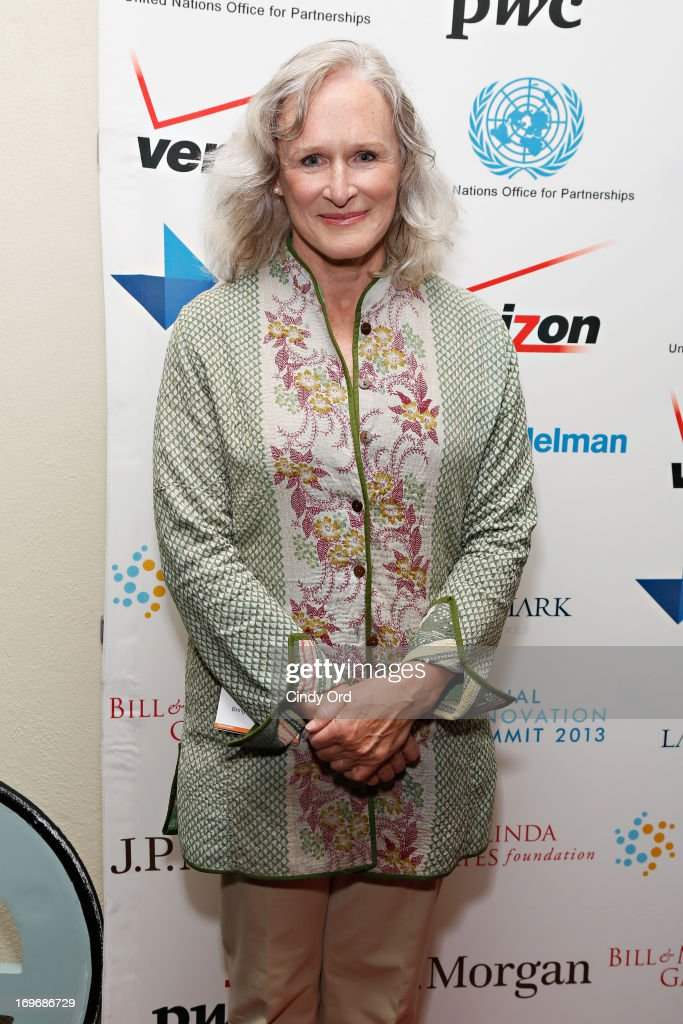 Actress <a gi-track='captionPersonalityLinkClicked' href=/galleries/search?phrase=Glenn+Close&family=editorial&specificpeople=201870 ng-click='$event.stopPropagation()'>Glenn Close</a> attends the Social Innovation Summit May 2013 - Day Two on May 30, 2013 in New York City.