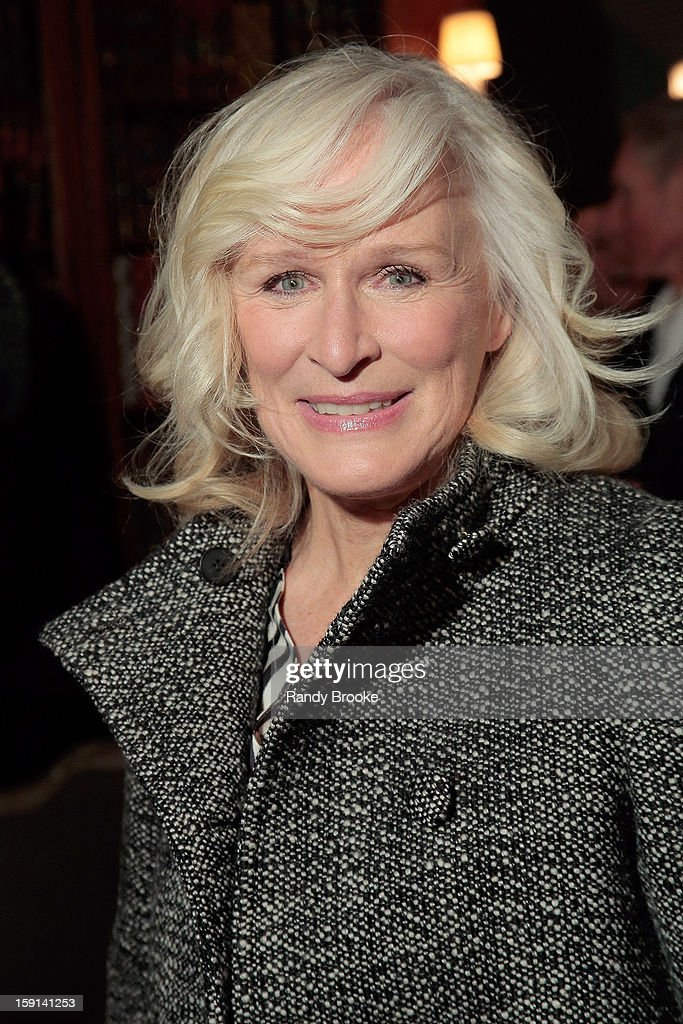 Actress Glenn Close attends the Stella McCartney Autumn 2013 Presentation at 680 Park Avenue on January 8, 2013 in New York City.