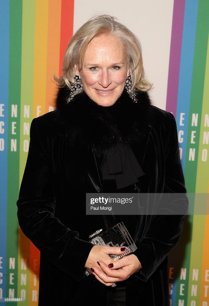 Actress <a gi-track='captionPersonalityLinkClicked' href=/galleries/search?phrase=Glenn+Close&family=editorial&specificpeople=201870 ng-click='$event.stopPropagation()'>Glenn Close</a> attends the The 36th Kennedy Center Honors gala at The Kennedy Center on December 8, 2013 in Washington, DC.
